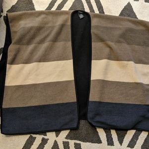 Ike Behar colorblocked shawl